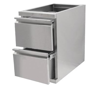 Tiroirs inox bloc tiroir et tiroir marc cogenim - Lave vaisselle 3 tiroirs ...